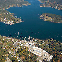 Somes Sound Mount Desert Island Maine USA