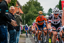 Peloton with Chantal Blaak of Boels Dolmans Cycling Team  during 2017 National Road Race Championships Netherlands for Women Elite, Montferland, The Netherlands, 24 June 2017. Photo by Pim Nijland / PelotonPhotos.com | All photos usage must carry mandatory copyright credit (Peloton Photos | Pim Nijland)