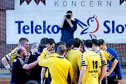 Gorenje at handball match of MIK 1st Men league between RD Slovan and RK Gorenje Velenje, on May 16, 2009, in Arena Kodeljevo, Ljubljana, Slovenia. Gorenje won 27:26. (Photo by Vid Ponikvar / Sportida)