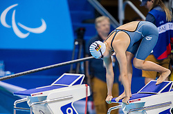 Emely Telle of Germany competes in the Swimming Women's 50m Freestyle - S12 Final during Day 10 of the Rio 2016 Summer Paralympics Games on September 17, 2016 in Olympic Aquatic Stadium, Rio de Janeiro, Brazil. Photo by Vid Ponikvar / Sportida