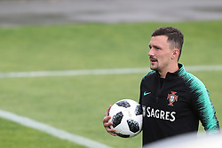 May 30, 2018 - Lisbon, Portugal - Portugal's defender Mario Rui during a training session at Cidade do Futebol (Football City) training camp in Oeiras, outskirts of Lisbon, on May 30, 2018, ahead of the FIFA World Cup Russia 2018 preparation matches against Belgium and Algeria...........during the Portuguese League football match Sporting CP vs Vitoria Guimaraes at Alvadade stadium in Lisbon on March 5, 2017. Photo: Pedro Fiuzaduring the Portugal Cup Final football match CD Aves vs Sporting CP at the Jamor stadium in Oeiras, outskirts of Lisbon, on May 20, 2015. (Credit Image: © Pedro Fiuza/NurPhoto via ZUMA Press)