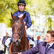 Metropol (M.Guyon) wins Prix RMC in Deauville, France, 13/08/2017, photo: Zuzanna Lupa