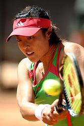 10.05.2011, Foro Italico, Rom, ITA, WTA Tour, Rome Masters, im Bild Ayumi MORITA Japan.Roma 9/5/2011 Foro Italico.Internazionali BNL d'Italia - Tennis. EXPA Pictures © 2011, PhotoCredit: EXPA/ InsideFoto/ Andrea Staccioli +++++ ATTENTION - FOR AUSTRIA/AUT, SLOVENIA/SLO, SERBIA/SRB an CROATIA/CRO CLIENT ONLY +++++