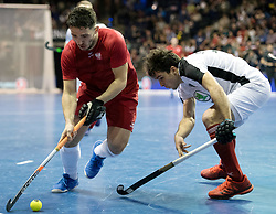 BERLIN - Indoor Hockey World Cup<br /> Quarterfinal 2: Austria - Poland<br /> foto: Tomasz G&oacute;rny <br /> WORLDSPORTPICS COPYRIGHT FRANK UIJLENBROEK