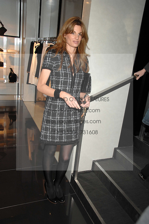JEMIMA KHAN at a lunch to celebrate the launch of the Top Tips for Girls website (toptips.com) founded by Kate Reardon held at Armani, Brompton Road, London on 5th March 2007.<br /><br />NON EXCLUSIVE - WORLD RIGHTS
