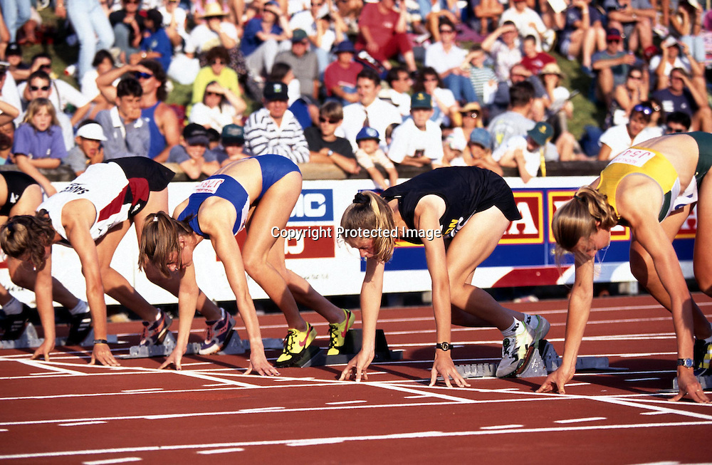 1997. Athletics, Robin Tait Classic, Auckland, New Zealand.<br />
