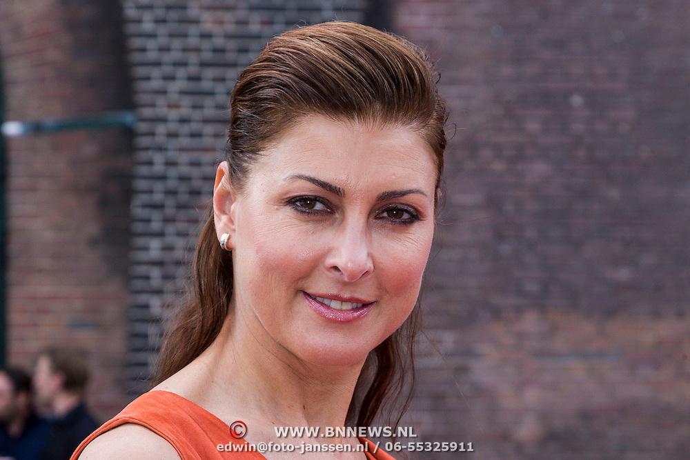 NLD/Amsterdam/20130708- AFW 2013 zomer, modeshow Claes Iversen, Euvgenia Parakhina