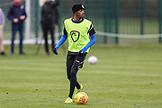 Forest Green Rovers Reece Brown(10) at Stanley Park, Chippenham, United Kingdom on 14 January 2019.