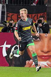 25.11.2011, Rhein Energie Stadion, Koeln, GER, 1.FBL, 1. FC Koeln vs Borussia Moenchengladbach, im BildTorjubel/ Jubel nach dem 0:1 durch Mike Hanke (Mönchengladbach #19) // during the 1.FBL, 1. FC Koeln vs Borussia Moenchengladbach on 2011/11/25, Rhein-Energie Stadion, Köln, Germany. EXPA Pictures © 2011, PhotoCredit: EXPA/ nph/ Mueller *** Local Caption ***..***** ATTENTION - OUT OF GER, CRO *****