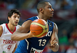 Boris Diaw of France during  the eight-final basketball match between National teams of Turkey and France at 2010 FIBA World Championships on September 5, 2010 at the Sinan Erdem Dome in Istanbul, Turkey. (Photo By Vid Ponikvar / Sportida.com)