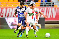 Bruno GROUGI / Thomas AYASSE - 10.01.2014 - Troyes / Brest - 19e journee Ligue 2<br /> Photo : Dave Winter / Icon Sport