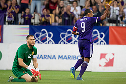 Marcos Tavares of NK Maribor during 2nd Leg football match between NK Maribor and FK Partizani Tirana in 1st Qualifying Round of UEFA Europa League 2018/18, on July 19, 2018 in Ljudski vrt, Maribor, Slovenia. Photo by Urban Urbanc / Sportida