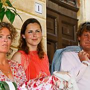 ITA/Siena/20100718 - Huwelijk wesley Sneijder en Yolanthe Cabau van Kasbergen in Siena Italie, Anniko van Santen