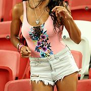 Singapore Sevens, Day 1, National Stadium, Singapore.  Photo by Barry Markowitz, 4/15/17