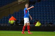 Paul Downing (5) of Portsmouth during the Leasing.com EFL Trophy match between Oxford United and Portsmouth at the Kassam Stadium, Oxford, England on 8 October 2019.