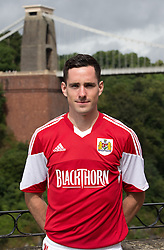 Greg Cunningham of Bristol City - Photo mandatory by-line: Kieran McManus/JMP - Tel: Mobile: 07966 386802 31/07/2013 - SPORT - FOOTBALL - Avon Gorge Hotel - Clifton Suspension bridge - Bristol -  Team Photo