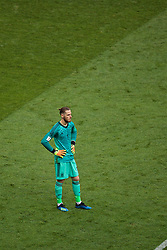 MOSCOW, RUSSIA - Sunday, July 1, 2018: Spain's goalkeeper David De Gea during the FIFA World Cup Russia 2018 Round of 16 match between Spain and Russia at the Luzhniki Stadium. (Pic by David Rawcliffe/Propaganda)