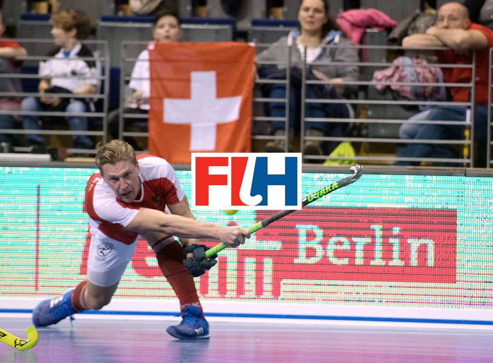BERLIN - Indoor Hockey World Cup<br /> Austria - South Africa<br /> foto: K&Ouml;RPER Michael<br /> WORLDSPORTPICS COPYRIGHT FRANK UIJLENBROEK