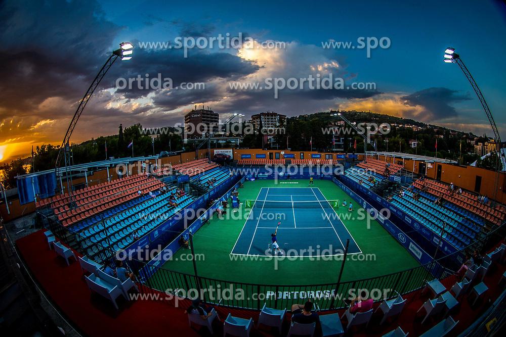 ATP Challenger Zavarovalnica Sava Slovenia Open 2017, on August 10, 2017 in Sports centre, Portoroz/Portorose, Slovenia. Photo by Vid Ponikvar / Sportida
