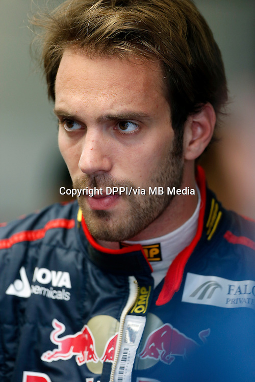 MOTORSPORT - F1 2013 - GRAND PRIX OF CANADA - MONTREAL (CAN) - 07 TO 09/06/2013 - PHOTO FRANCOIS FLAMAND / DPPI - VERGNE JEAN-ERIC (FRA) - TORO ROSSO STR8 FERRARI - AMBIANCE PORTRAIT