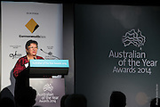 Australian of the year awards, Darwin NT. 7th November 2013. Photo Shane eecen