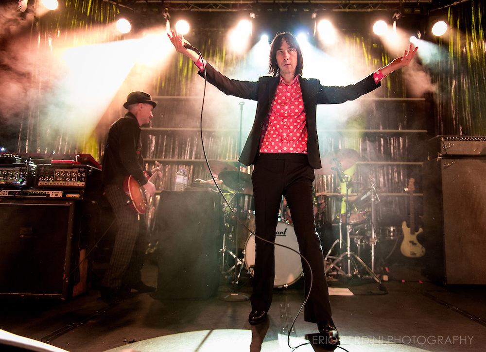 Primal Scream take their tour at the soldout Cambridge Junction on 5 December 2016