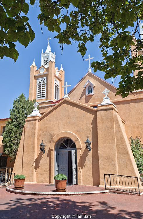 Church of San Felipe De Neri,Albuquerque Old City,New Mexico.
