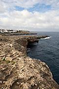 The coast at Cala d'Or.