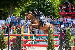 LEBER Stefan (GER), Come on Conny<br /> Münster - Turnier der Sieger 2019<br /> Preis der PROVINZIAL VERSICHERUNG<br /> Junioren-Förderpreis 2019<br /> 03. August 2019<br /> © www.sportfotos-lafrentz.de/Stefan Lafrentz