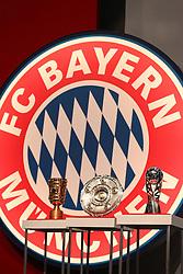 30.11.2010, Olympiahalle, Muenchen, GER, 1.FBL, Jahreshauptversammlung FC Bayern, im Bild DFB-Pokal, Meisterschale und Supercup  , EXPA Pictures © 2010, PhotoCredit: EXPA/ nph/  Straubmeier       ****** out ouf GER ******