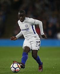 Ngolo Kante of Chelsea in action - Mandatory by-line: Jack Phillips/JMP - 19/04/2018 - FOOTBALL - Turf Moor - Burnley, England - Burnley v Chelsea - English Premier League