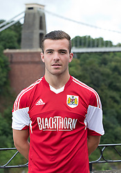Mitch Brundle of Bristol City - Photo mandatory by-line: Kieran McManus/JMP - Tel: Mobile: 07966 386802 31/07/2013 - SPORT - FOOTBALL - Avon Gorge Hotel - Clifton Suspension bridge - Bristol -  Team Photo