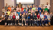 Gaelscoil Mhic Amhlaigh NS at the Jnr Lego League organized through schools by the Galway Education Centre at The Radisson blu hotel<br />  Photo: Andrew Downes,  xposure