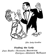 The Lady Gambles ; Barbara Stanwyck and Stephen McNally