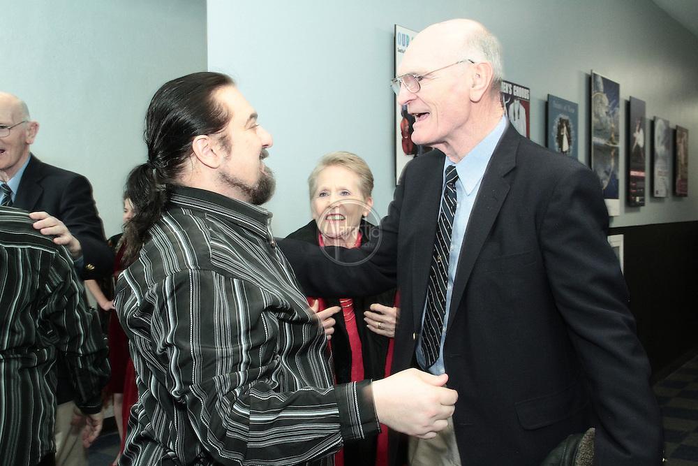 Opening night of Attila at Seattle Opera, McCaw Hall, Jan. 14, 2012.