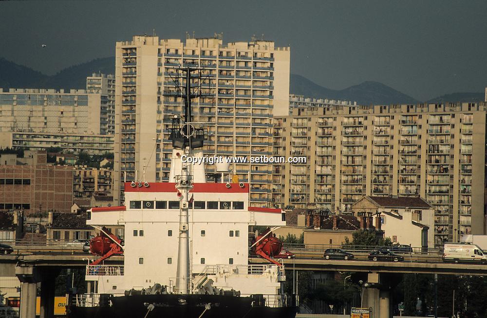 France. Marseille. The port  Marseille  France  / LE PORT AUTONOME  Marseille  France  /     L0008238  /  R20711  /  P115644