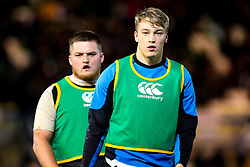 Richard Capstick of England U20 and Alfie Petch of England U20 - Mandatory by-line: Robbie Stephenson/JMP - 15/03/2019 - RUGBY - Franklin's Gardens - Northampton, England - England U20 v Scotland U20 - Six Nations U20
