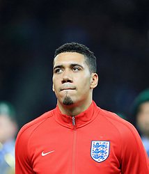 Englands Chris Smalling - Mandatory by-line: Matt McNulty/JMP - 26/03/2016 - FOOTBALL - Olympiastadion - Berlin, Germany - Germany v England - International Friendly