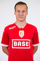 Standard's Deni Milosevic pictured during the 2015-2016 season photo shoot of Belgian first league soccer team Standard de Liege, Monday 13 July 2015 in Liege.