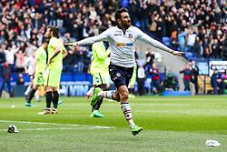 Jem Karacan of Bolton Wanderers celebrates scoring a goal to make it 1-0 - Rogan Thomson/JMP - 30/04/2017 - FOOTBALL - Macron Stadium - Bolton, England - Bolton Wanderers v Peterborough United - EFL Sky Bet League One.