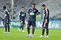 Deception Alexandre LACAZETTE / Nabil FEKIR  - 20.01.2015 - Nantes / Lyon  - Coupe de France 2014/2015<br /> Photo : Vincent Michel / Icon Sport