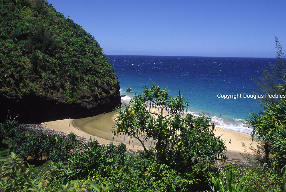 Hanakapiai Beach, Napali Coast, Kauai, Hawaii<br />