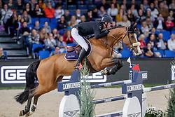 Verlooy Jos, BEL, Jacobien Dwerse Hagen<br /> Stuttgart - German Masters 2019<br /> © Hippo Foto - Stefan Lafrentz<br /> 14/11/2019