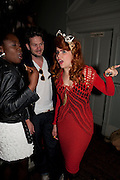 BABY SOL; PALOMA FAITH; -, MARK FAST party, PARADISE, KENSAL GREEN. London. 28 July 2011. <br /> <br />  , -DO NOT ARCHIVE-© Copyright Photograph by Dafydd Jones. 248 Clapham Rd. London SW9 0PZ. Tel 0207 820 0771. www.dafjones.com.
