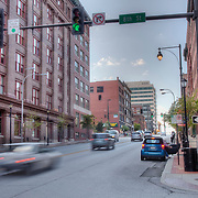 8th and Broadway looking south - Downtown Kansas City Missouri - taken for Rhythm Engineering.