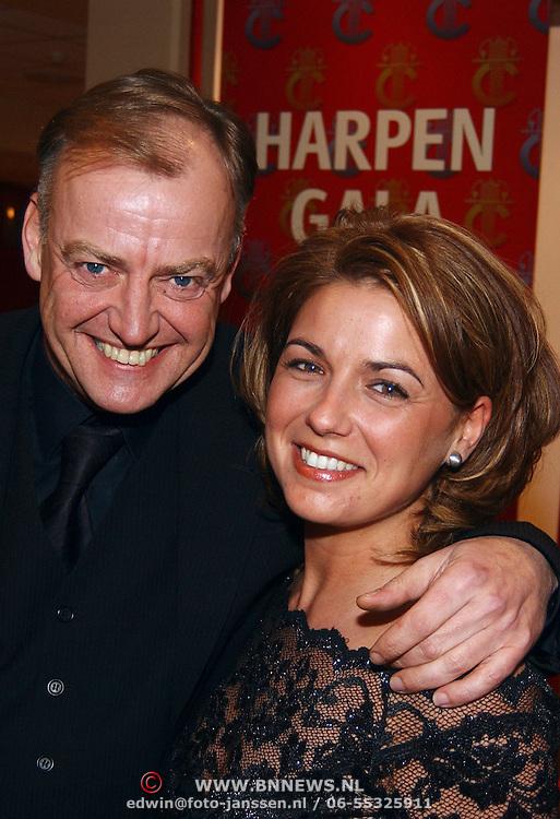 Harpengala 2003, Rini Schreijenberg en vriendin Liz