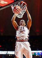 NCAA Basketball - Illinois Fighting Illini vs IUPUI Jaguars - Champaign, Il