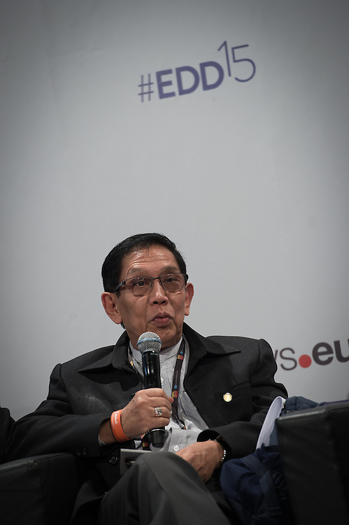 03 June 2015 - Belgium - Brussels - European Development Days - EDD - Inclusion - Social enterprise - Stemming the tide on income inequality - Aung Tun Thet , President's Economic Advisor , Myanmar and Senior Advisor , United Nations (UN) © European Union
