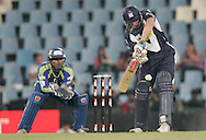 Victoria player Aaron Finch during match 16 of the Airtel CLT20 held between the Victorian Bushrangers and the Wayamba Elevens at Supersport Park in Centurion on the 20 September 2010..Photo by: Abbey Sebetha/SPORTZPICS/CLT20