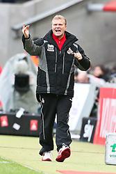13.02.2010,  Rhein Energie Stadion, Koeln, GER, 1.FBL, FC Koeln vs Mainz 05, 22. Spieltag, im Bild:Frank Schaefer (Trainer Koeln)   EXPA Pictures © 2011, PhotoCredit: EXPA/ nph/  Mueller       ****** out of GER / SWE / CRO  / BEL ******